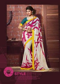 New Printed Silk Sarees