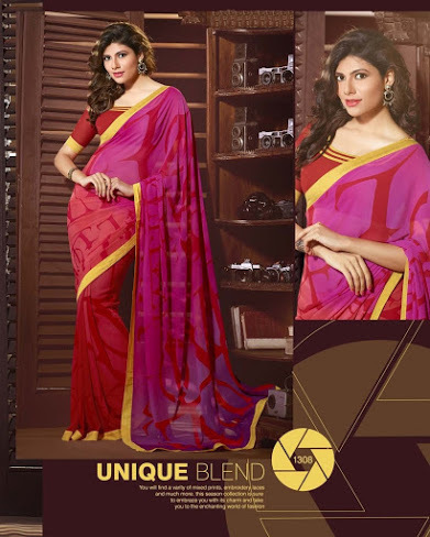 Printed Sarees Collection