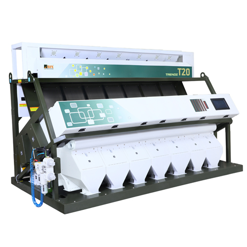 Double Boiled Rice Color Sorter Machine