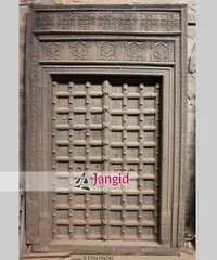 Traditional Indian Antique Hand Carved Door