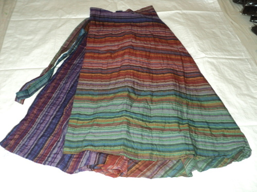 COTTON TIE DYE LONG SKIRTS
