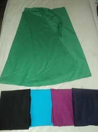 COTTON SOLID COLOURS LONG SKIRTS