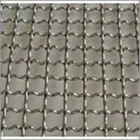S. S. Crimp Wire Mesh