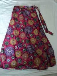FLOWER PRINTS LONG SKIRTS