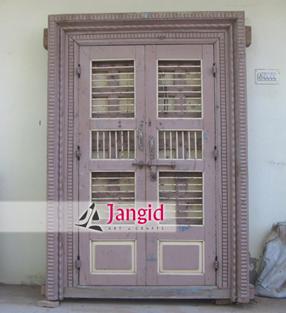Traditional Indian Antique Double Door
