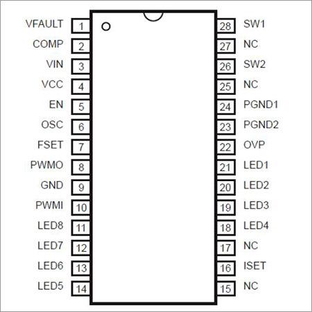 Microchip LED Driver IC