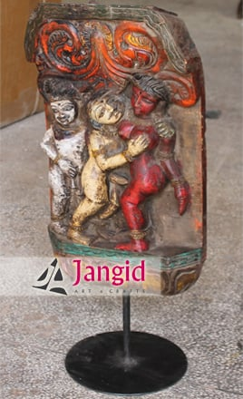 Antique Indian Kamasutra Statues