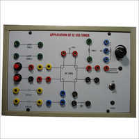 Monostable Multivibrator Trainer