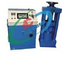 Compression Testing Machine Electrically-cum-hand operated