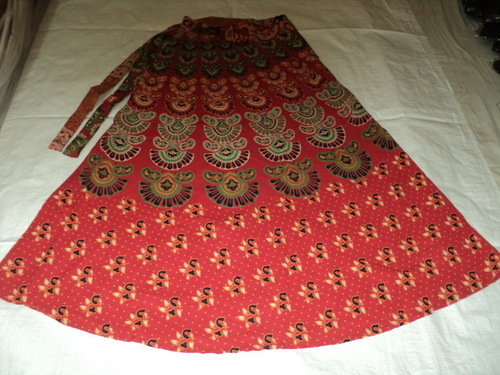 BARMERI PRINTED LONG SKIRTS