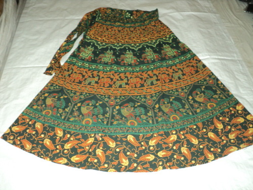 ELEPHANT PRINTED LONG SKIRTS FROM INDIA