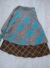 SAREE WRAPE ROUND SKIRTS FROM INDIA