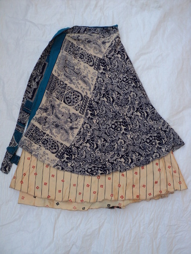 SAREE SKIRTS SMALL SIZE FROM INDIA