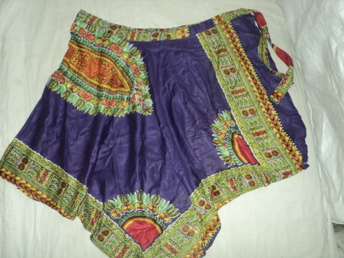 AFRICAN PRINTS MED. SIZE SKIRTS FROM INDIA