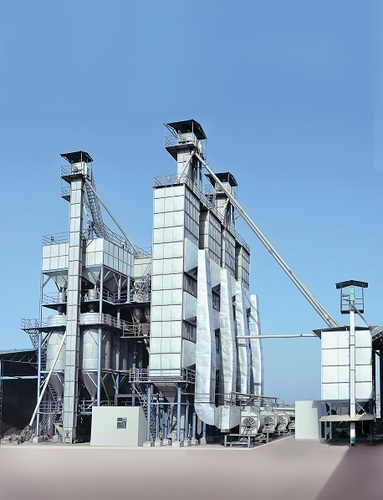 Our Paddy parboiling plant in Nissing
