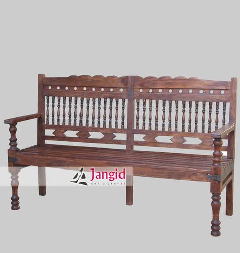 Sheesham Wooden Bench