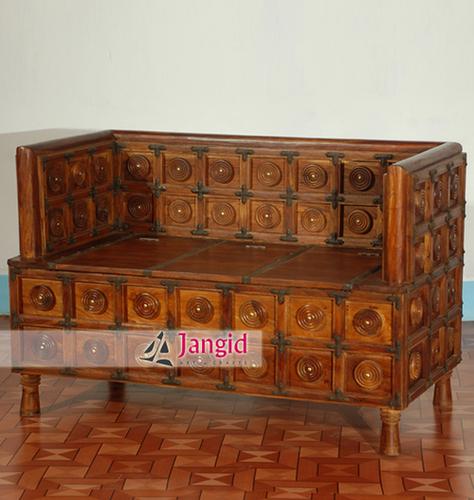 Wooden Living Room Sofa