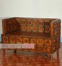 Wooden Living Room Sofa