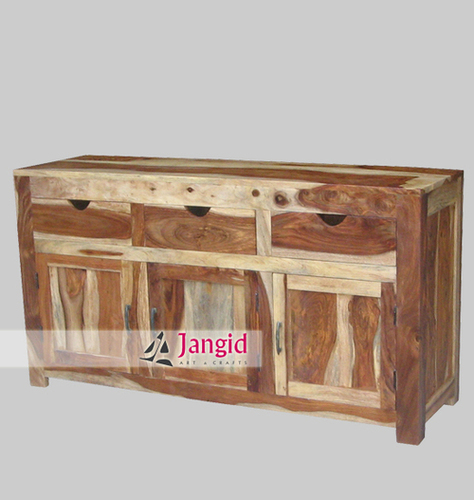 Solid Sheesham Wooden Sideboard