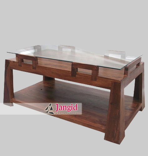 Indian Wooden Coffee Table