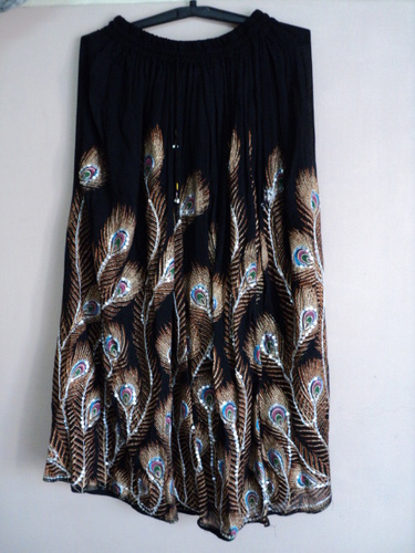 EMBROIDERY WORK LONG SKIRTS FROM INDIA