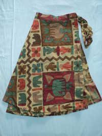 NEW PRINTS MED.SIZE.SKIRTS FROM INDIA