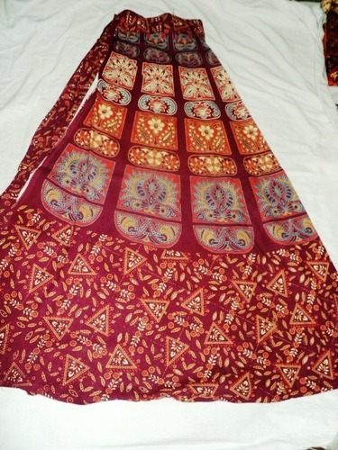 COTTON PRINTED LONG INDIAN SKIRTS