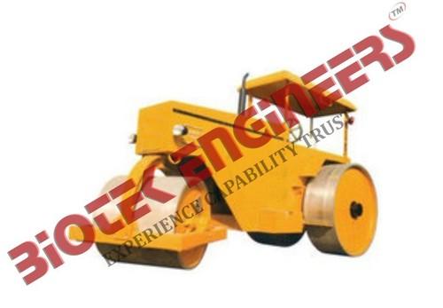 Working Model of Road Roller