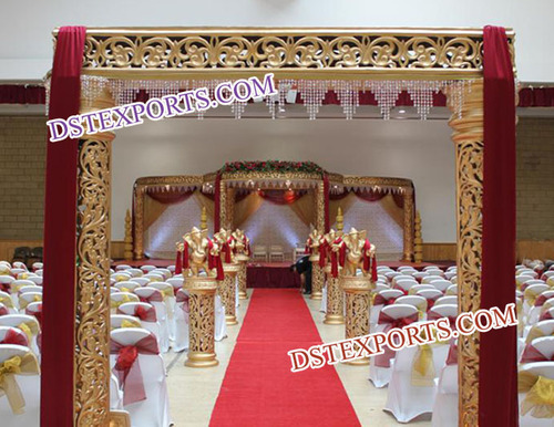 Indian Wedding Entrance Welcome Gate