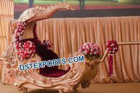 Indian Wedding Peacock Doli