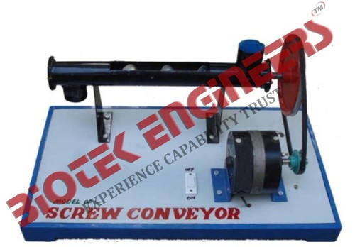 Working Model of Screw Conveyor