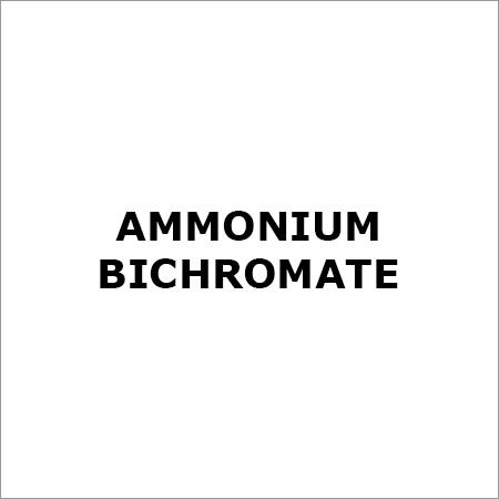 AMMONIUM BICHROMATE