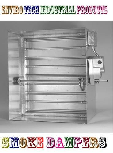 Fire and Smoke Dampers Motorized