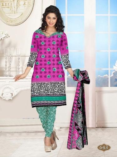Anarkali Cotton Salwar Kameez Materials