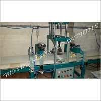 Semi Automatic Half Cooked Paratha Making Machine