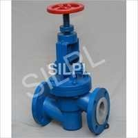 PFA Lined Globe Valves