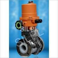 PFA Lined Pneumatic Actuator Valve