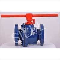 Antistatic PTFE Lined Ball Valve