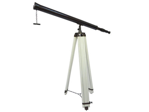 British Harbour Master Telescope Black Antique with tripod stand