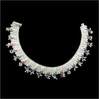 Fancy Silver Payal