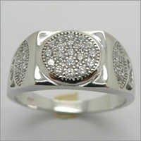 Mens Silver Ring