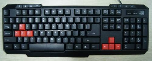 104 keys +8 hot keys gaming keyboard