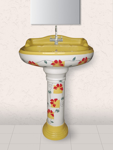 Printed Basin and Pedestal