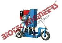 Core Drilling Machine, supplied with Diesel engine