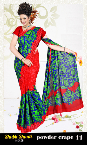 printed saree latest collection