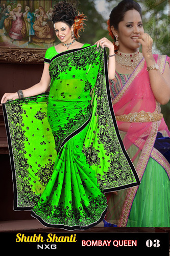 latest bombay queen style saree