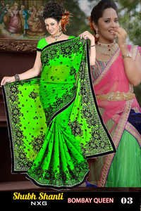 latest bombay queen style saree