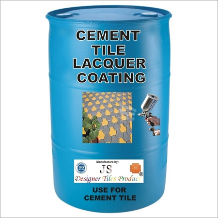 CEMENT TILE LACQUER COATING