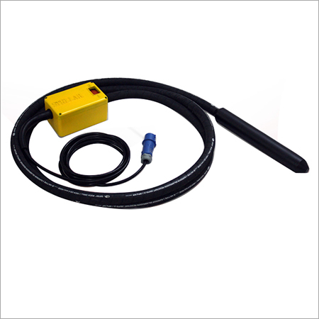 High Frequency Internal Vibrator with Integrated Frequency Converter
