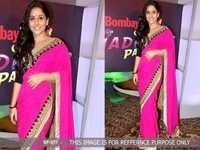 Bollywood  Replica Pink Colour  Saree